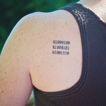 The Girl with the Binary Tattoo