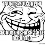 Internet Trolls - How To Report A Cyberbully