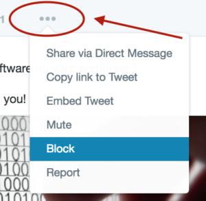 troll - twitter dots